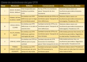 Clases de mutaciones FQ